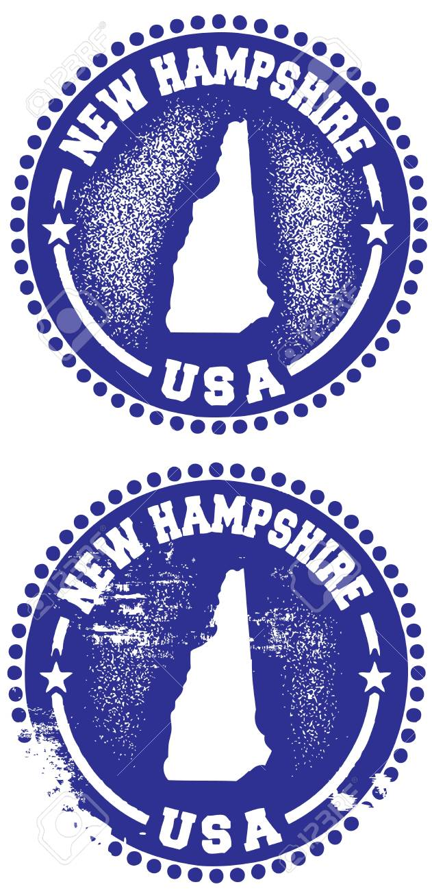 New Hampshire Stamps Stock Vector - 11602833