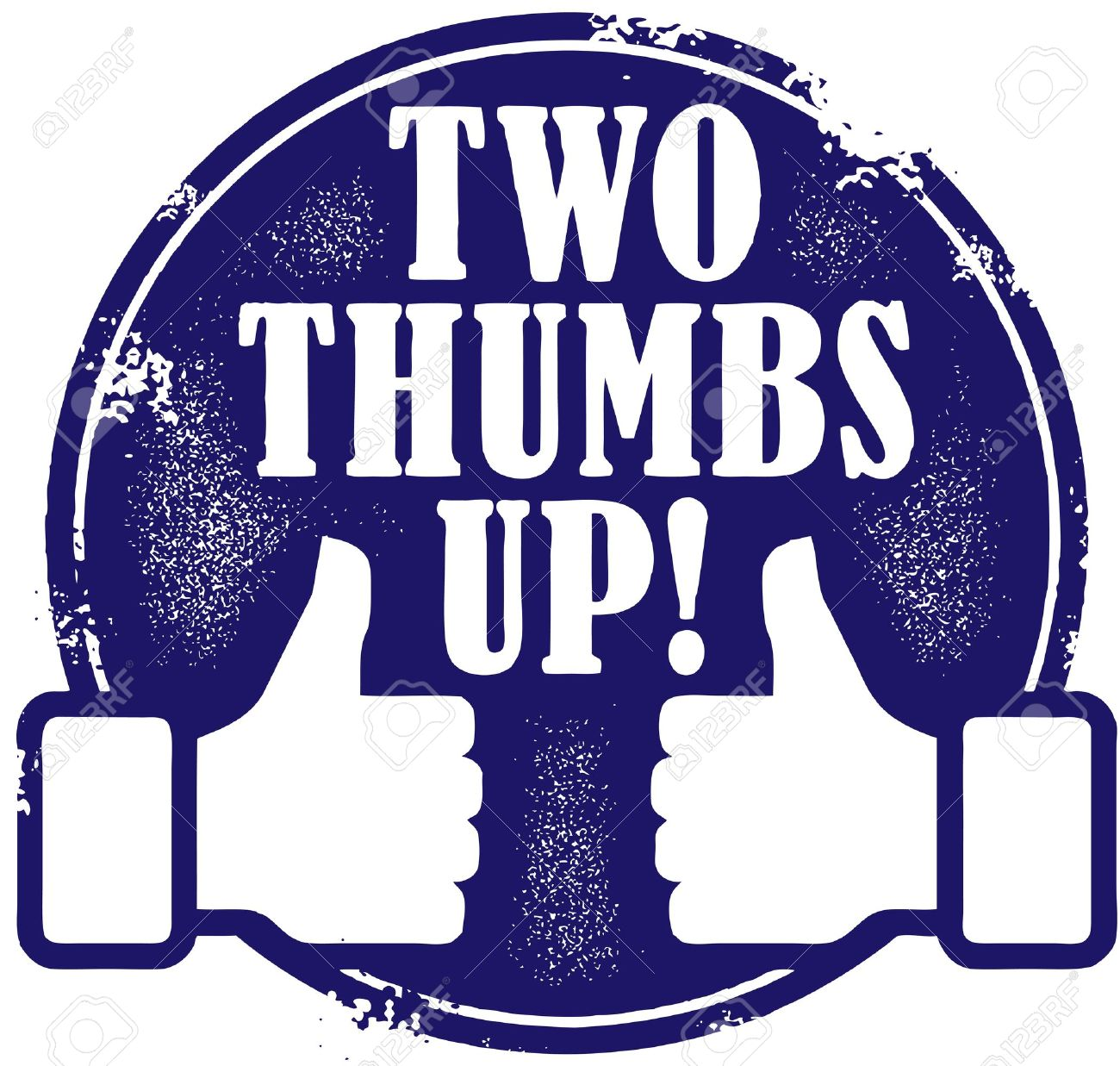 two thumps up stamp royalty free cliparts vectors and stock rh 123rf com Thumbs Down Clip Art Thumbs Down Clip Art
