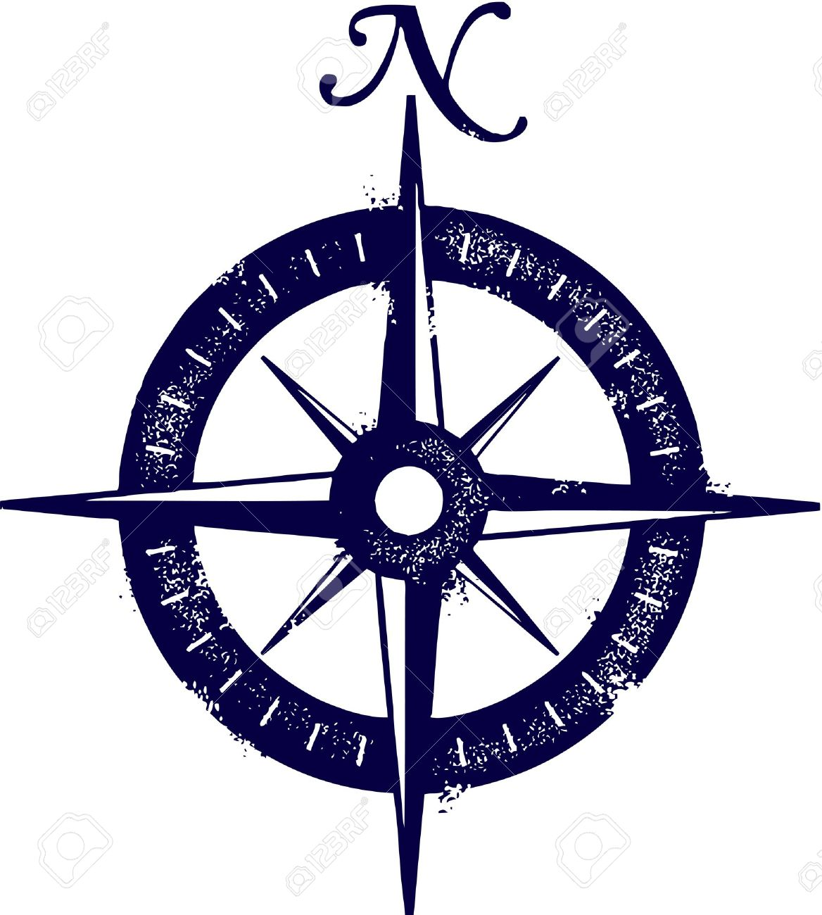 Vintage Compass Royalty Free Cliparts, Vectors, And Stock ...