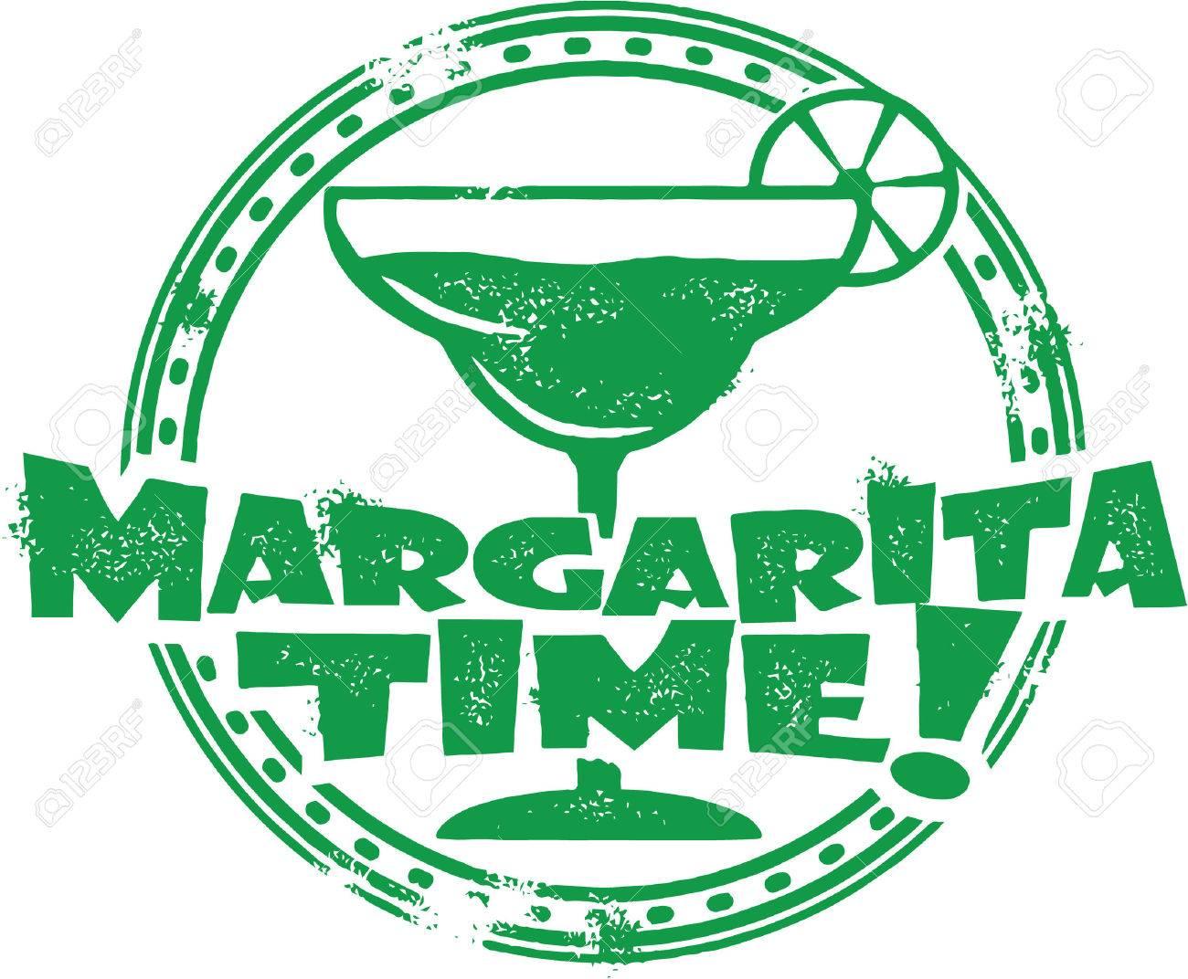 Margarita Cocktail Stamp - 25666691