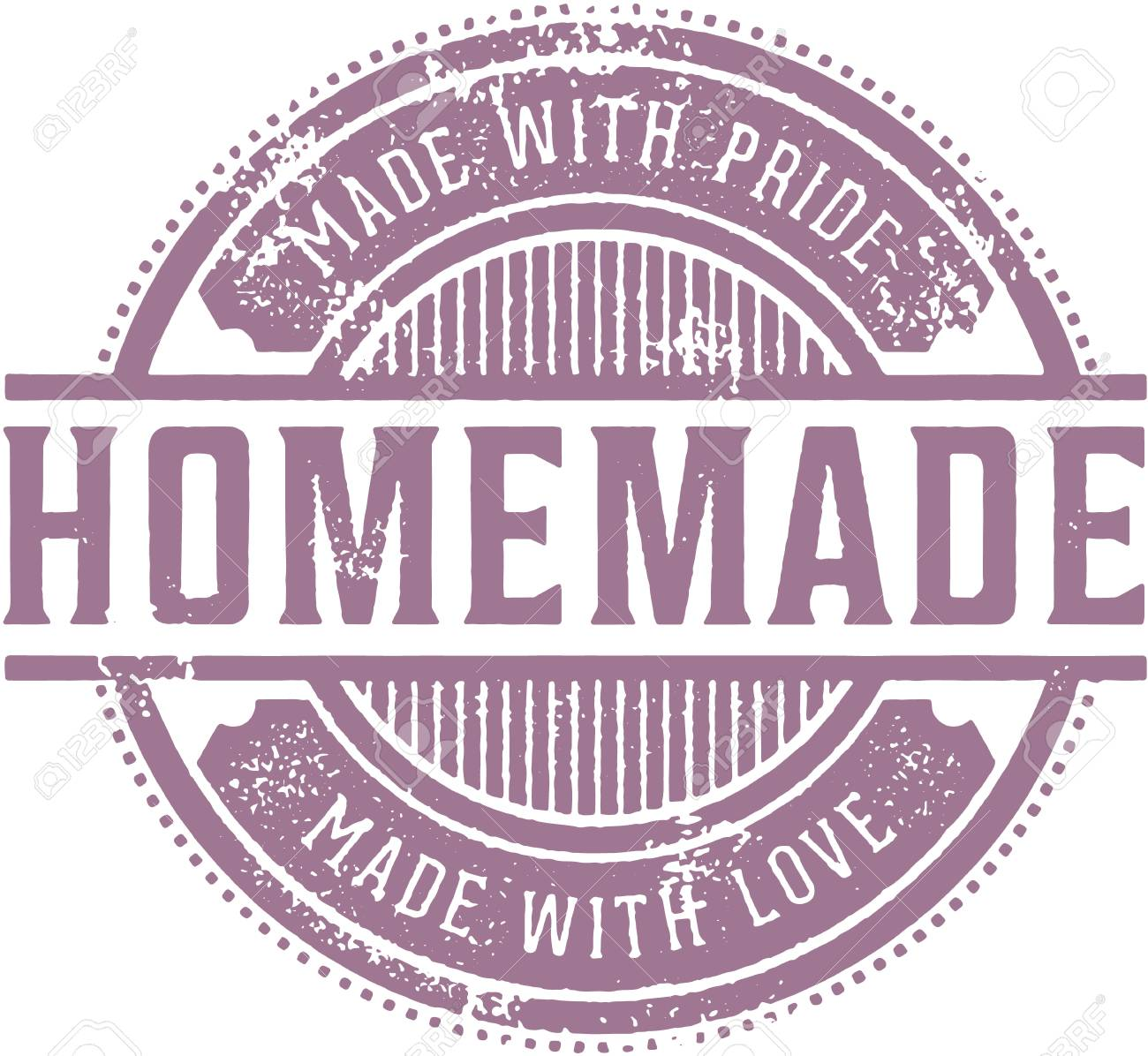 homemade vintage product label royalty free cliparts, vectors, and