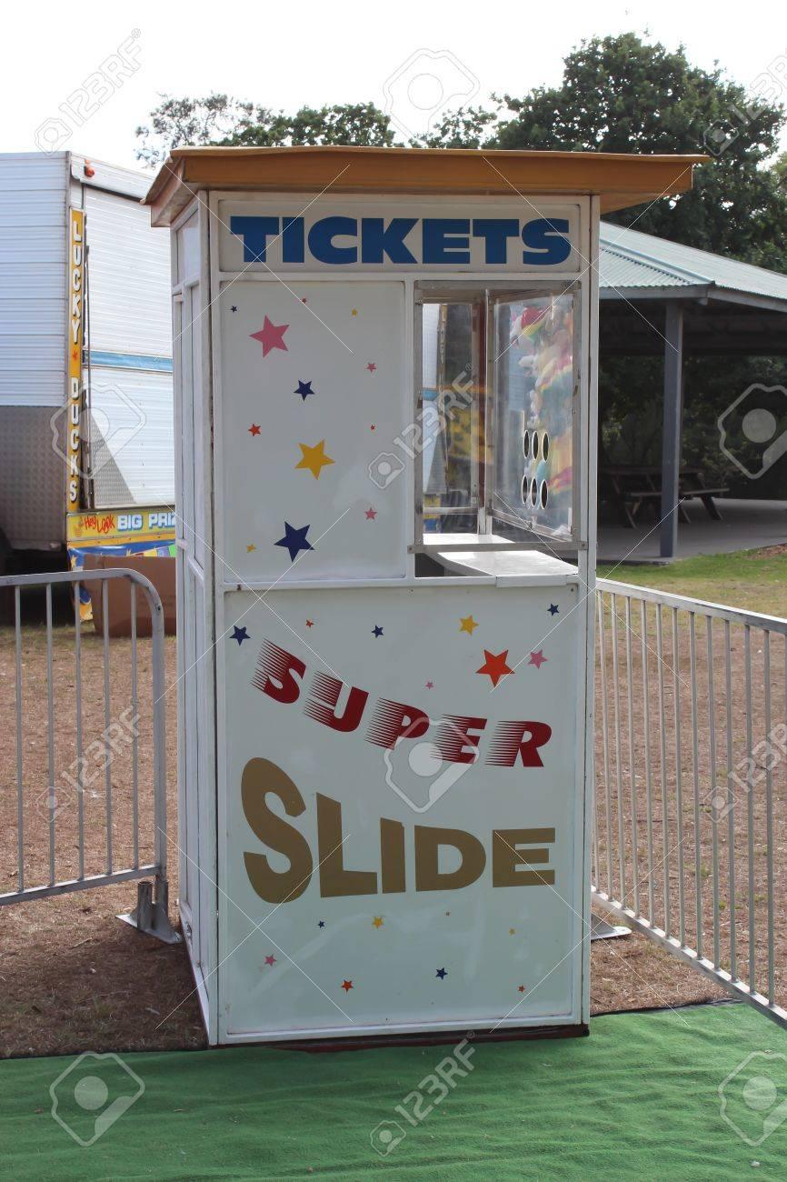 Amusement park ticket booth Stock Photo - 17747626
