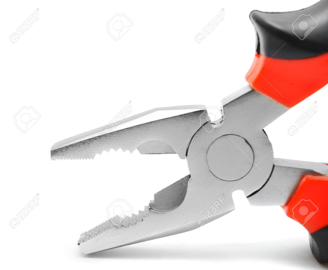 Pliers. On a white background. Stock Photo - 14152267