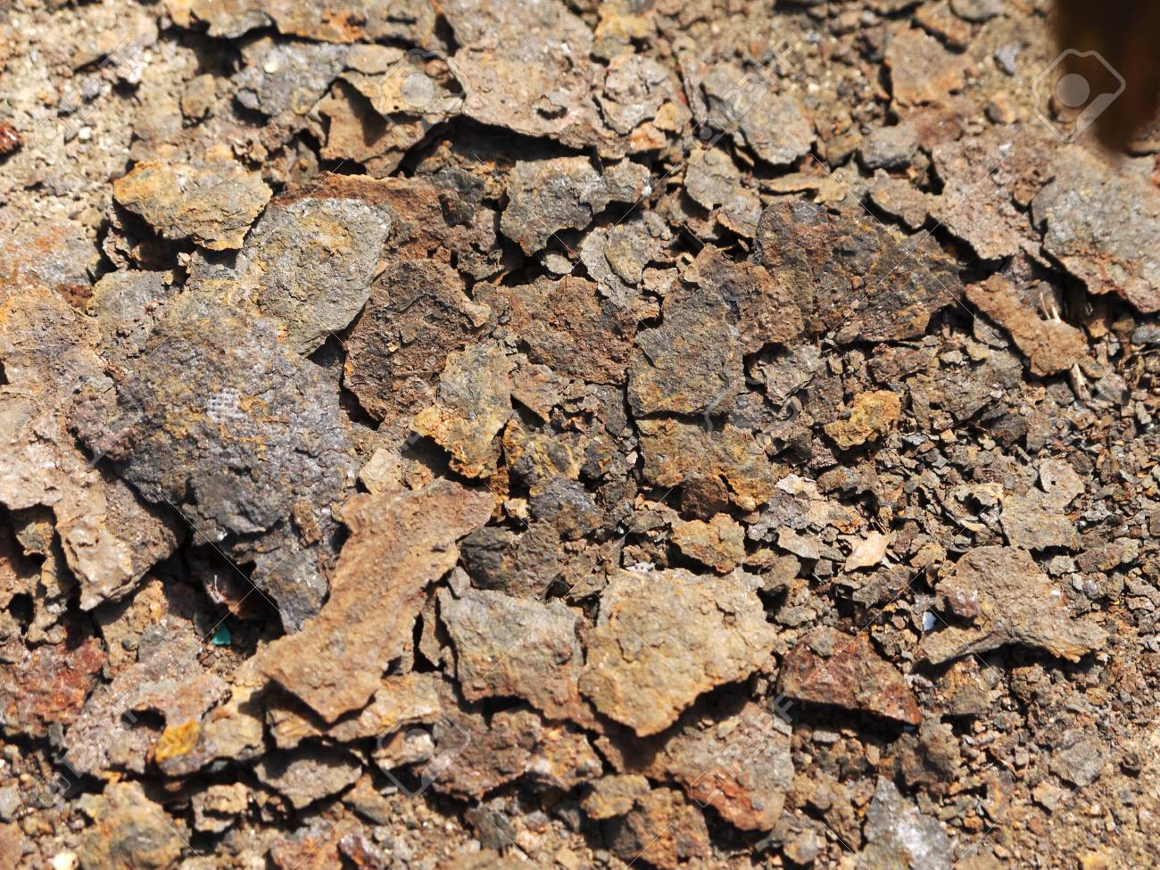 Pile Of Rust Metal Closeup Stock Photo, Picture And Royalty Free Image.  Image 60596830.