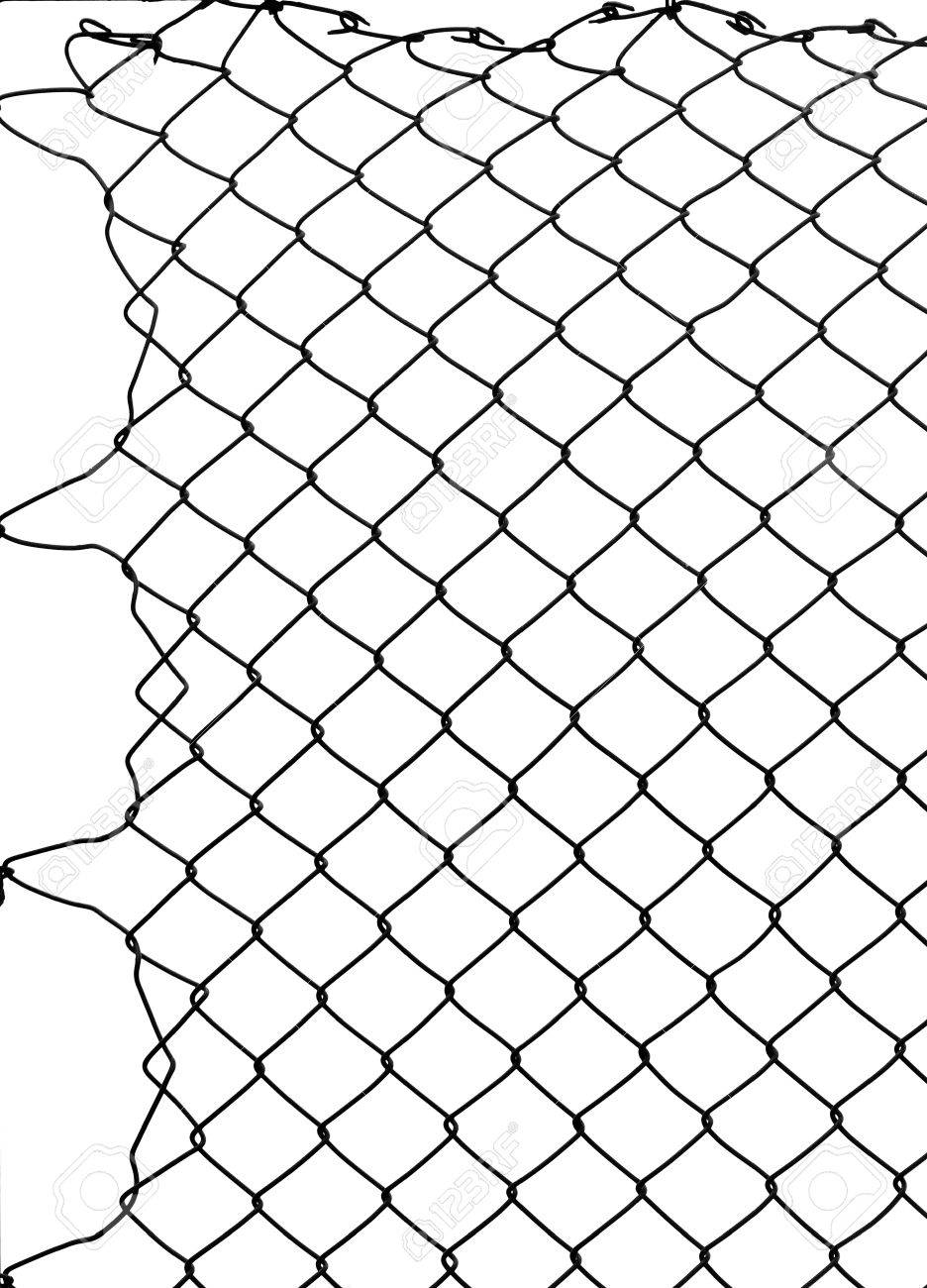 Damage Wire Mesh Stock Photo, Picture And Royalty Free Image. Image ...