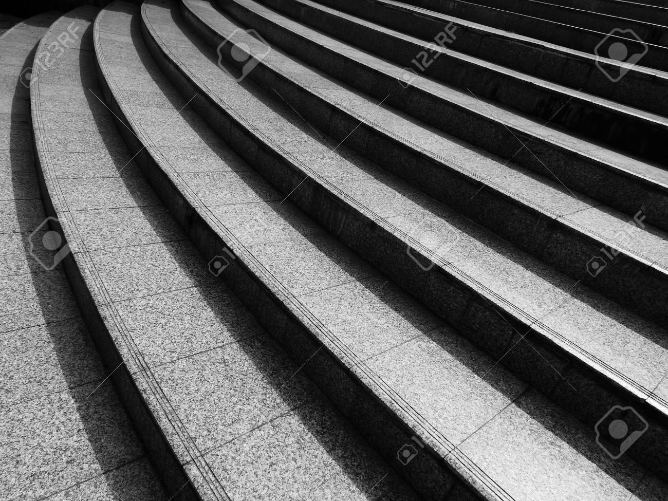Granite Stone Staircase In Street Architecture Design Black Stock Photo Picture And Royalty Free Image Image 93650240