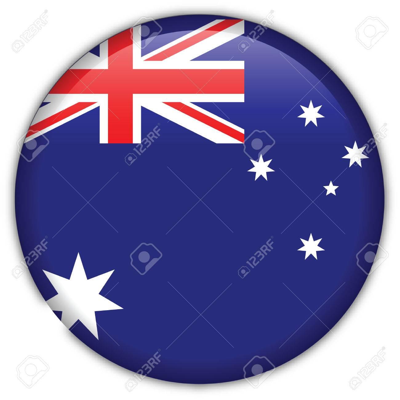 Australia flag icon Stock Vector - 9755797