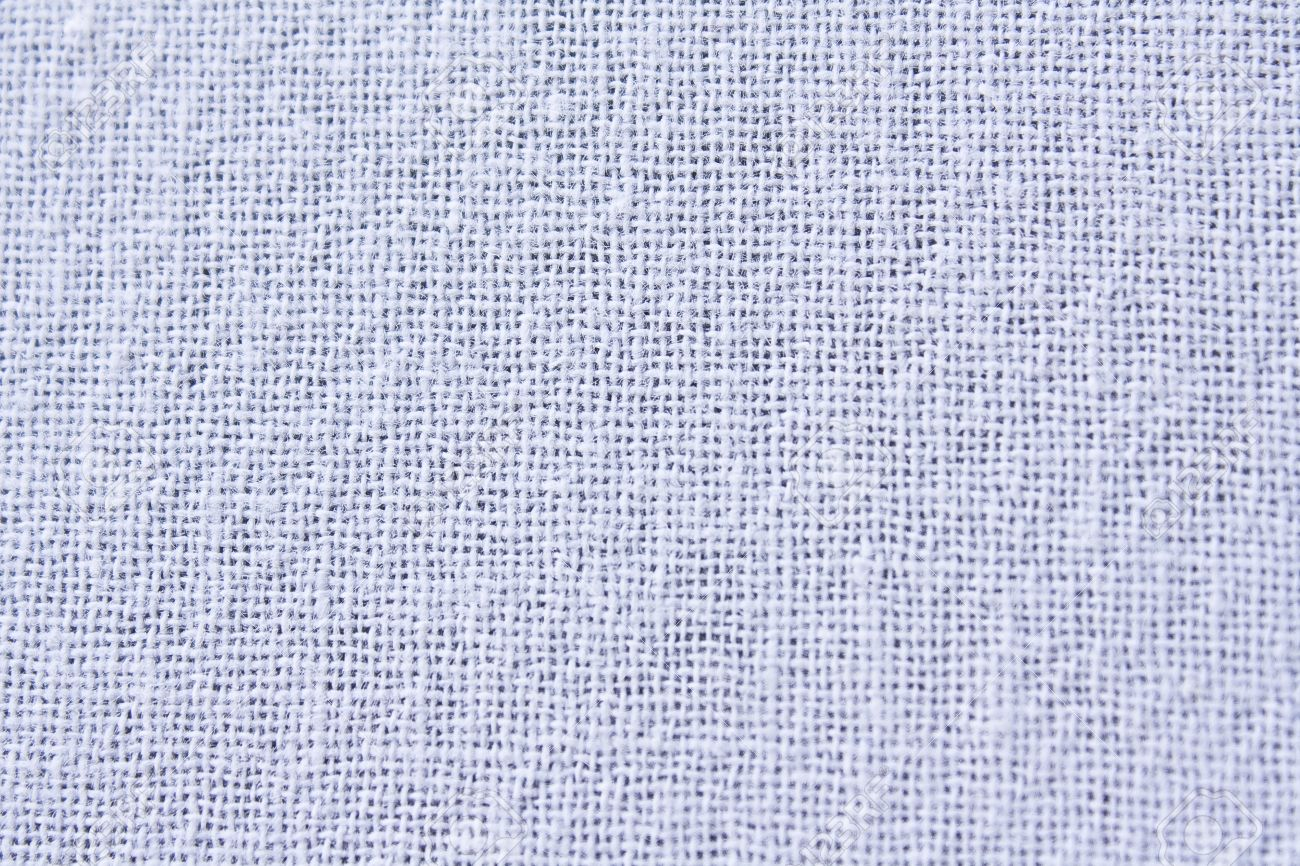 White Cotton Fabric Textile Texture To Background Stock Photo