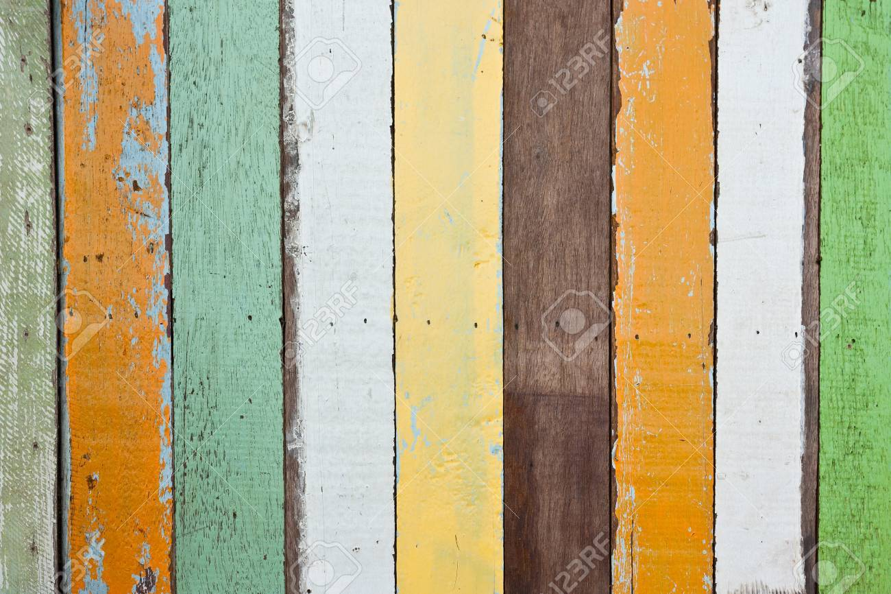Abstract grunge wood stripes pattern texture background colorful Stock Photo - 16525496