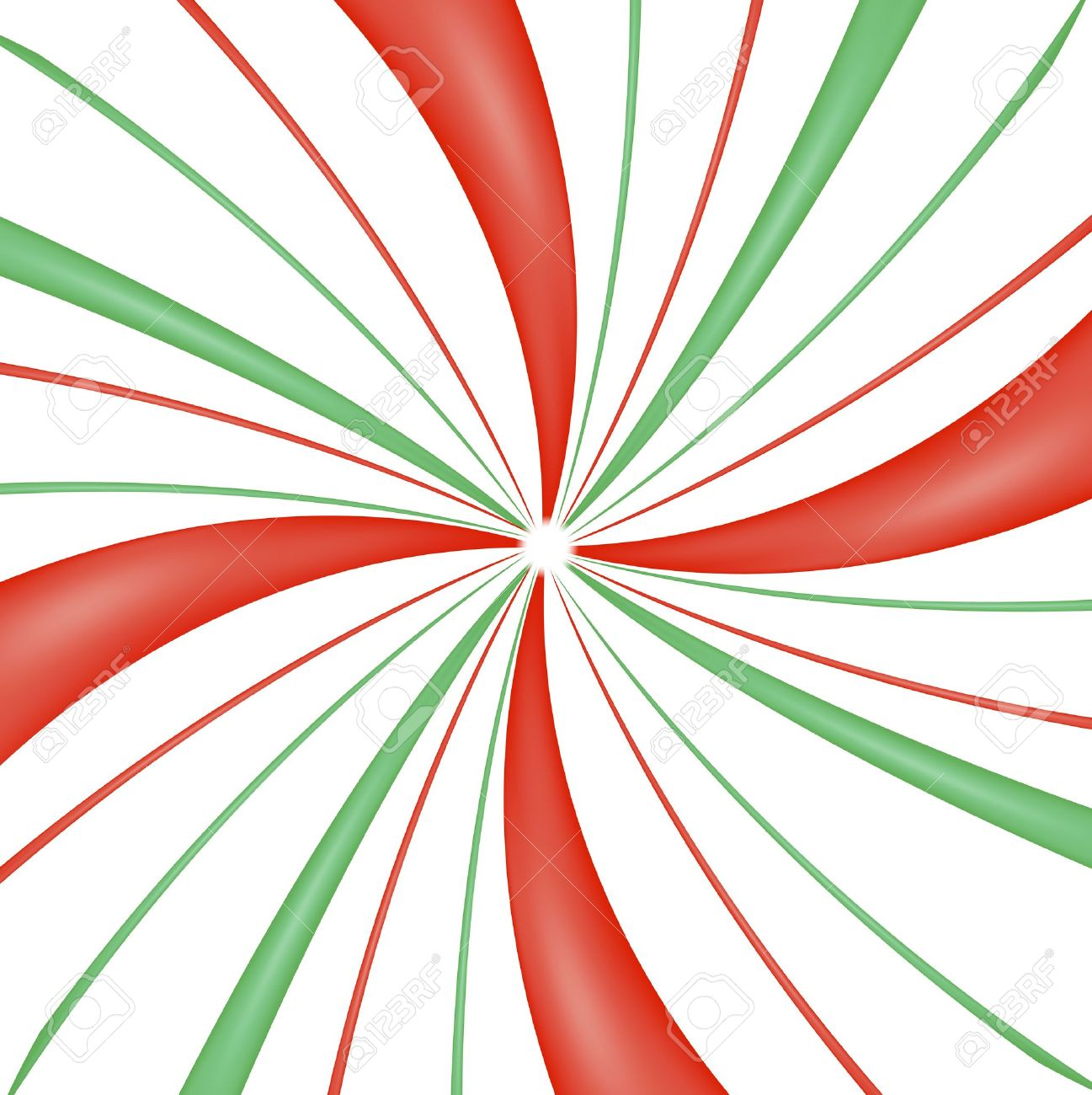 Peppermint Candy Swirl Background Stock Photo
