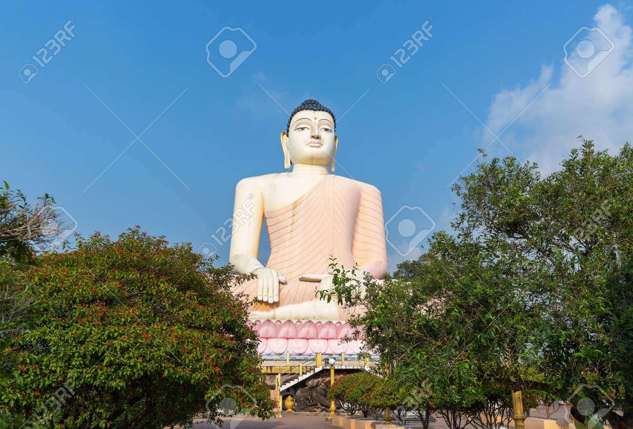 Great Buddha in Kande Vihara Temple, Sri Lanka - 165339682