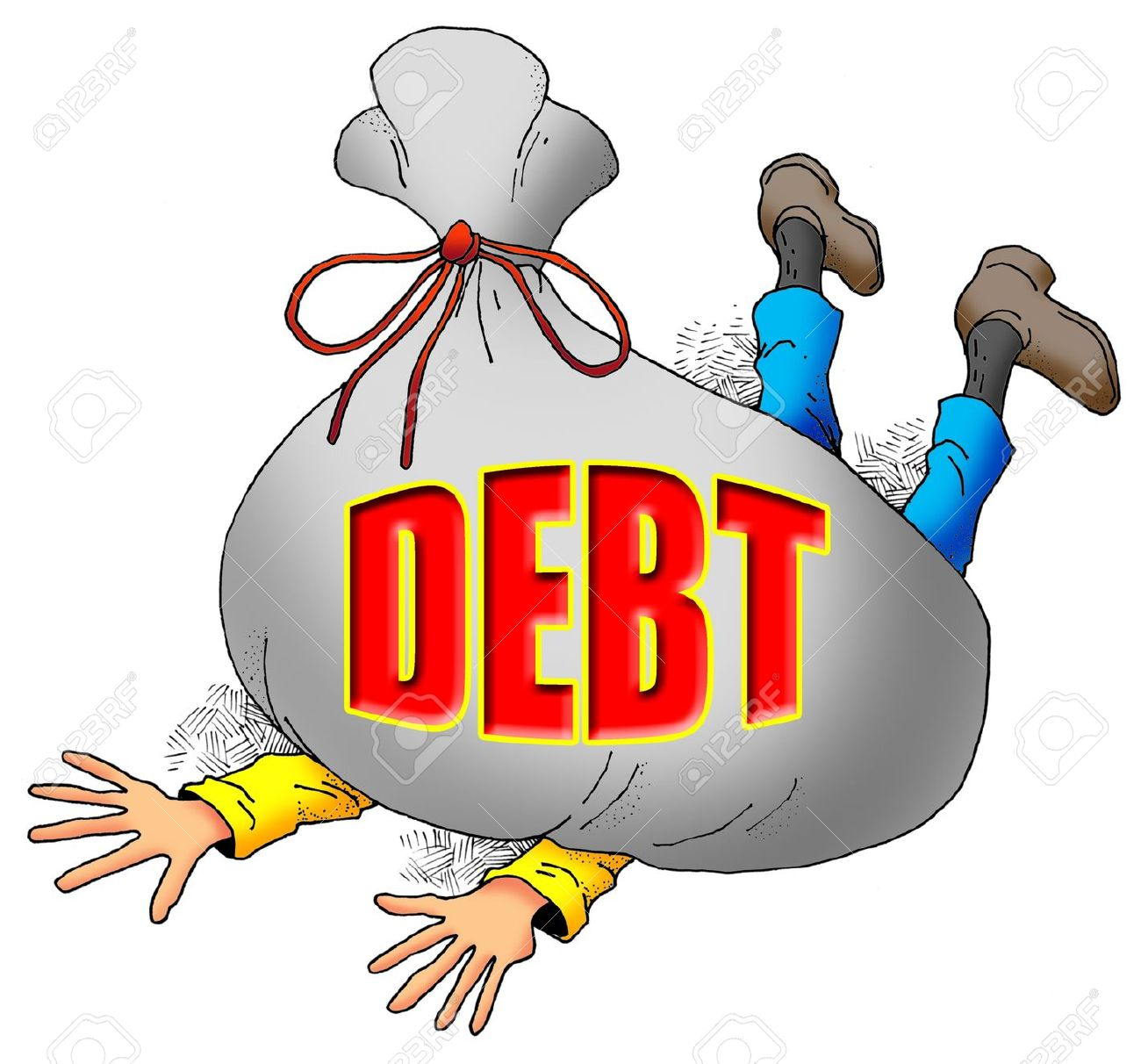「down debt」的圖片搜尋結果