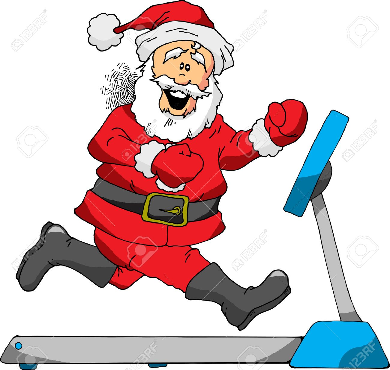 Image result for santa working out