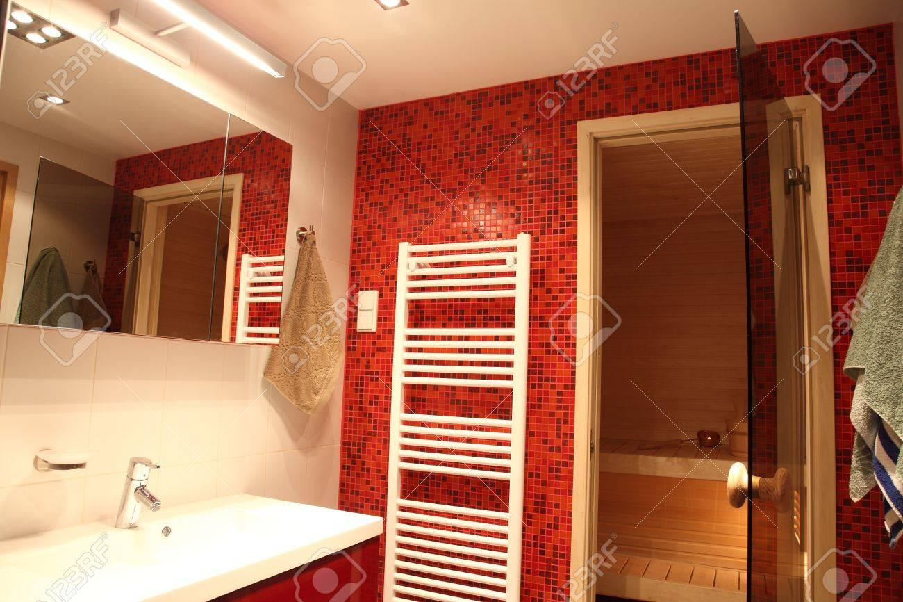 badezimmer mit sauna | jtleigh - hausgestaltung ideen, Wohnzimmer dekoo