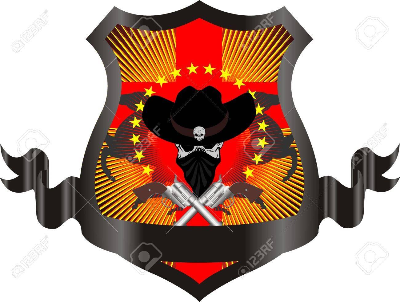 Guns Logo Vector Vector Illustration Gun
