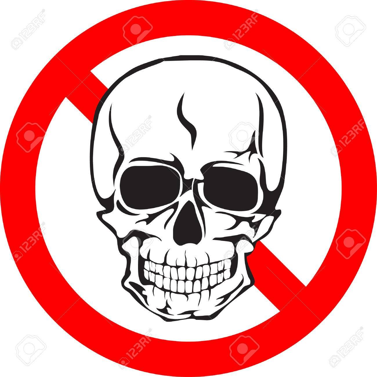 Skull sign Stock Vector - 5017495