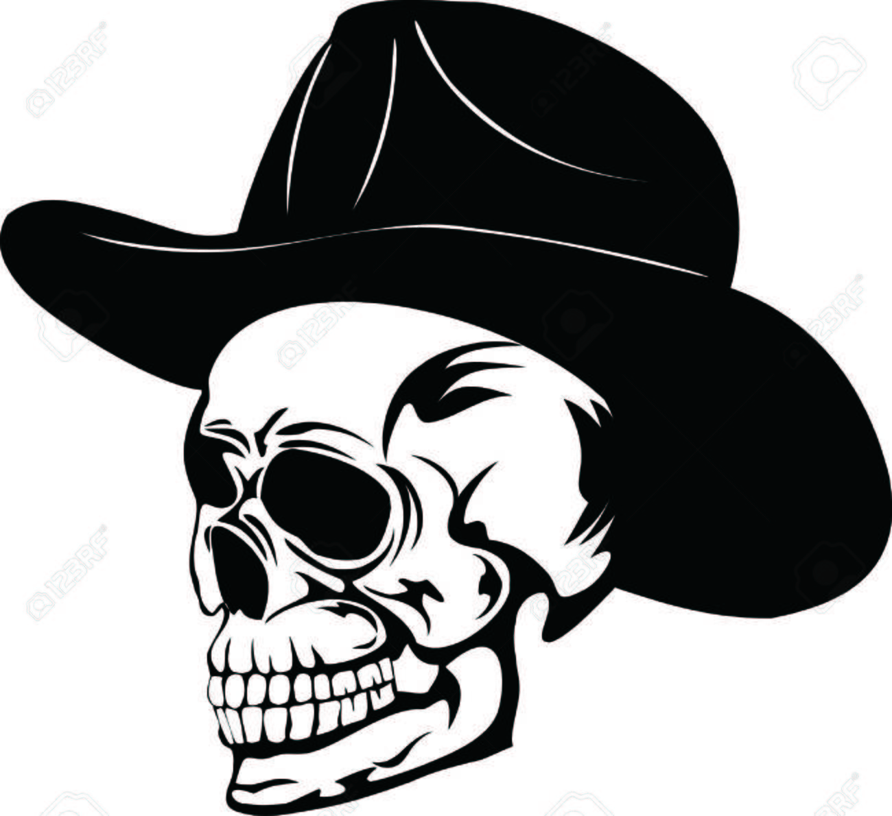 skill in hat Stock Vector - 5198251