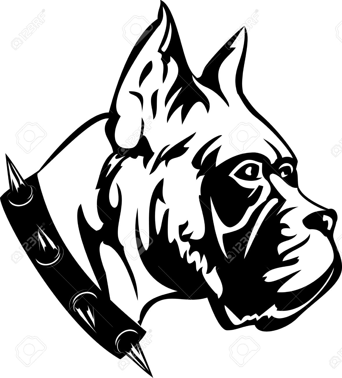Dogs Black And White Clipart Black White Image of Dog of