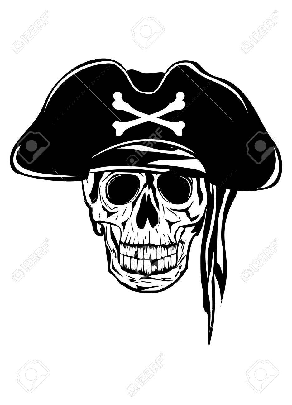 The image of piracy skull Stock Vector - 14266938