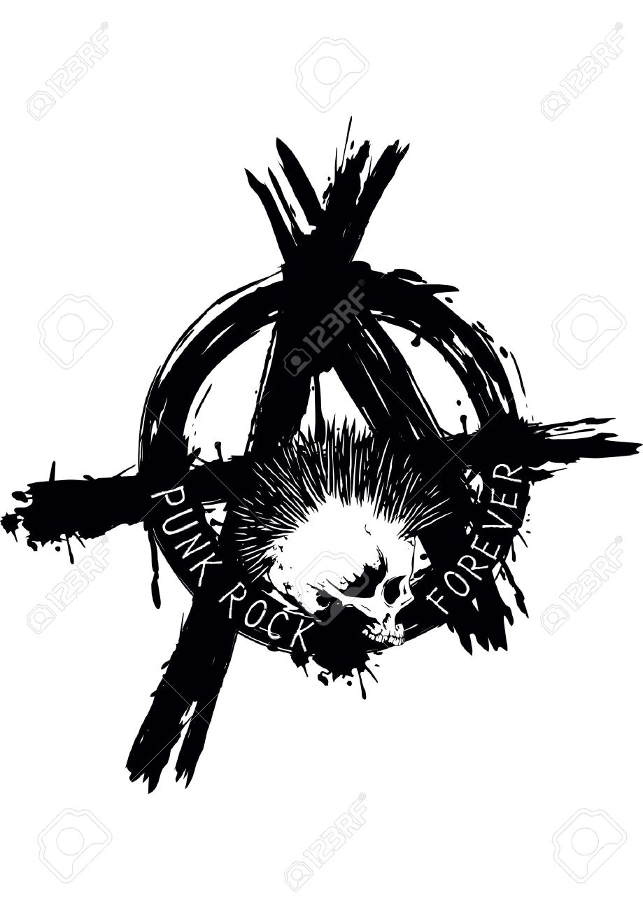 1227 Anarchy Symbol Stock Vector Illustration And Royalty Free