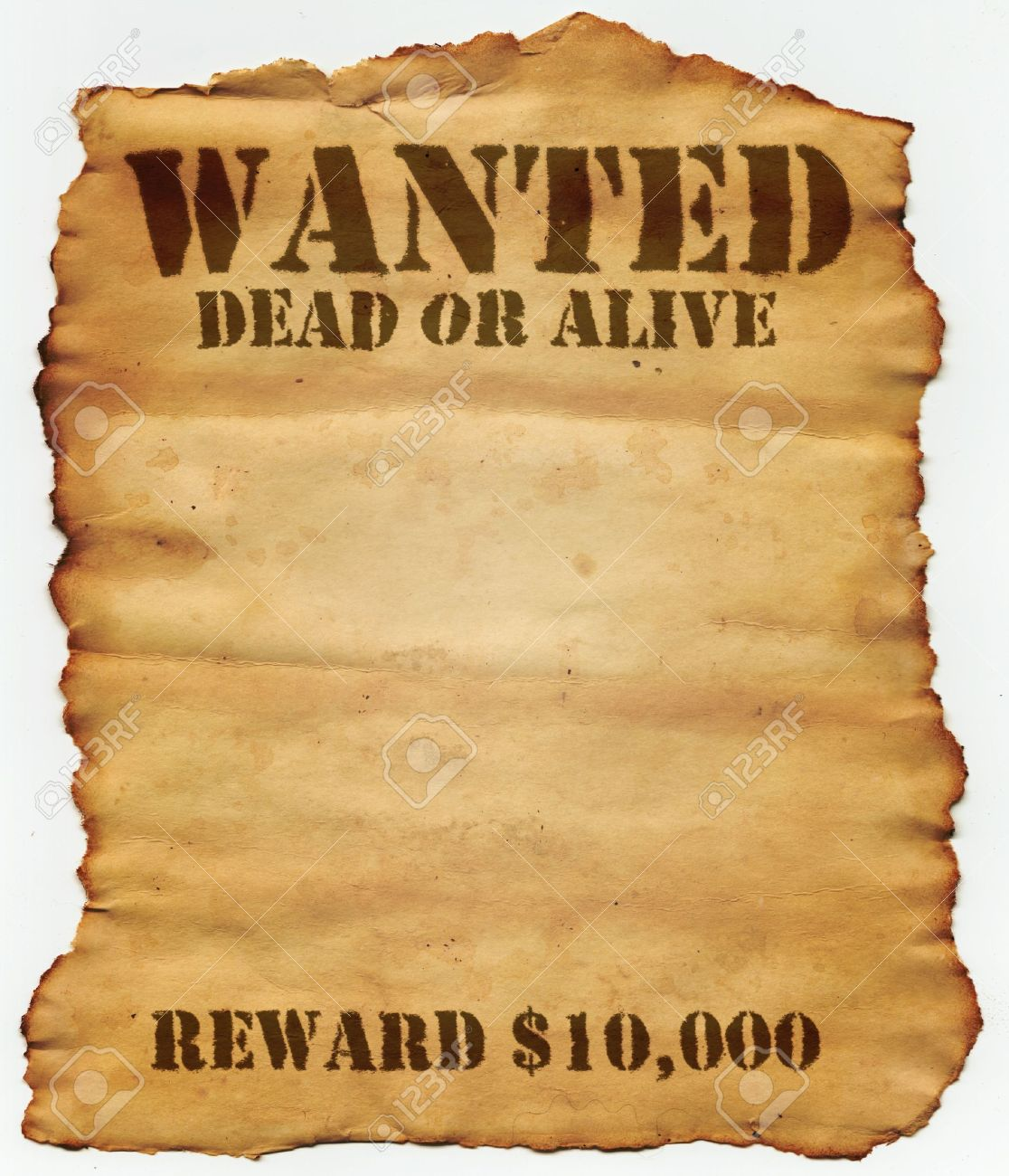 Wanted Dead or Alive Stock Photo - 3417595