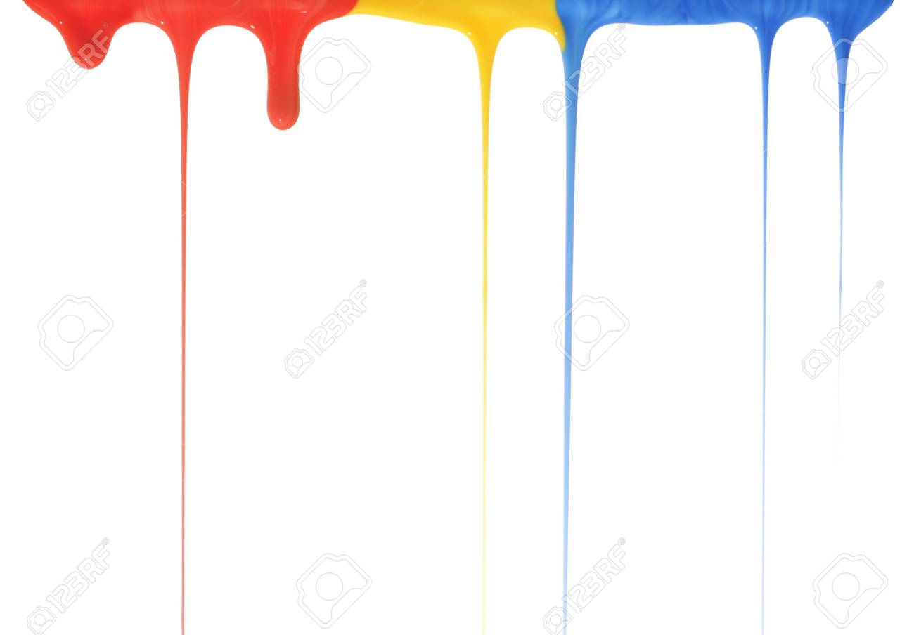 Pouring primary colors Stock Photo - 3591331