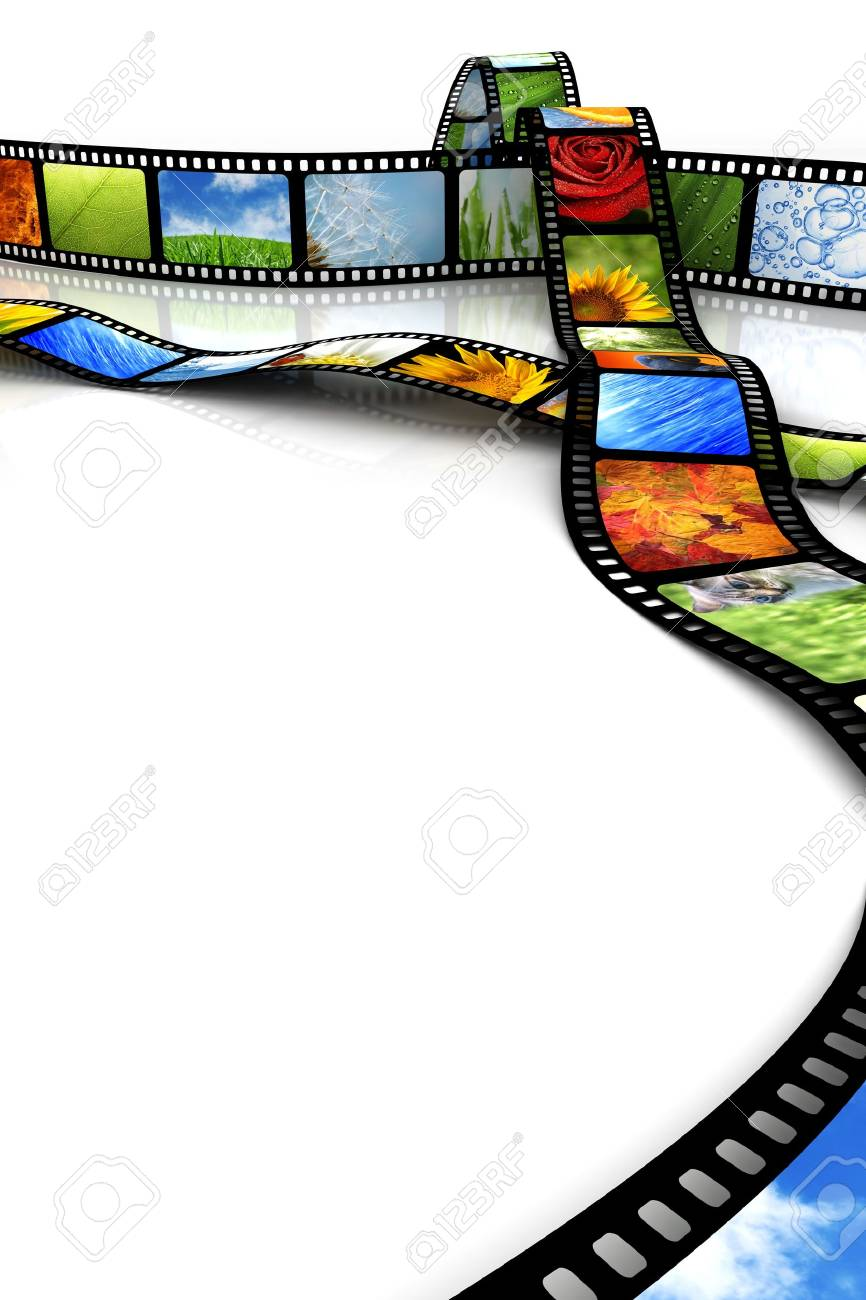 Film with images Stock Photo - 4717095