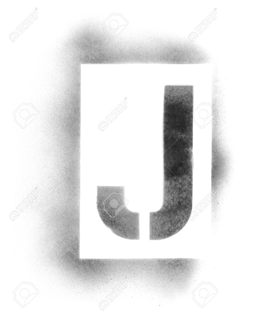 stencil letters in spray paint stock photo 5041345