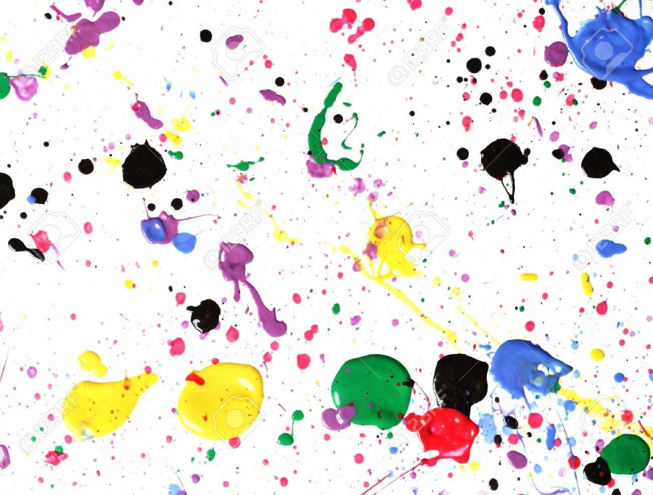 Paint splatter Stock Photo - 5082213