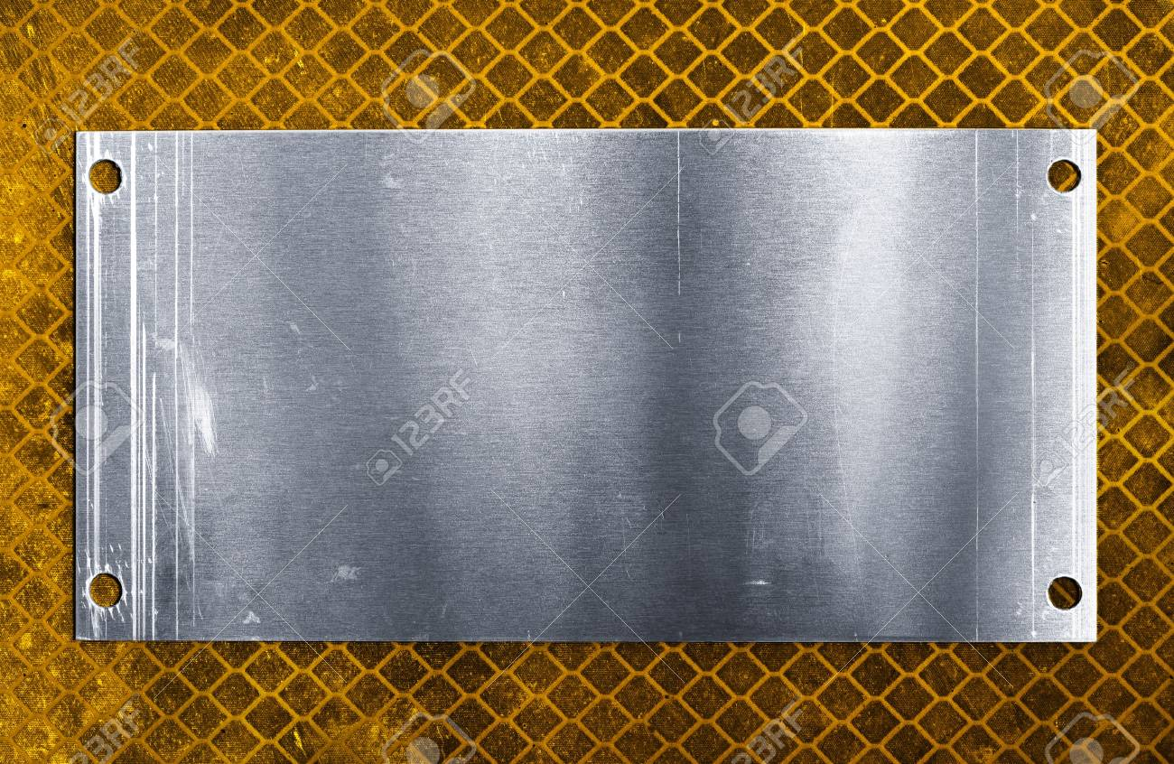 Metal plate Stock Photo - 5409799