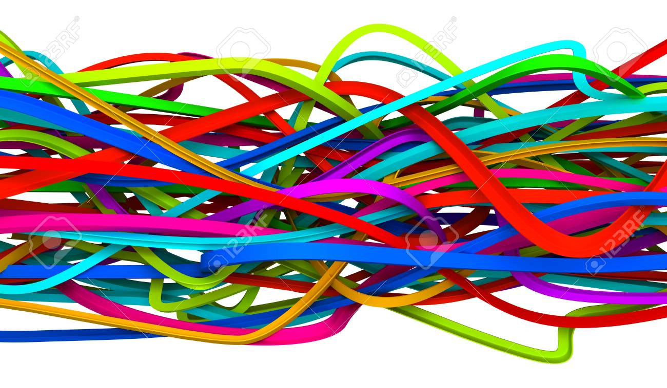 Abstract wires Stock Photo - 6371159