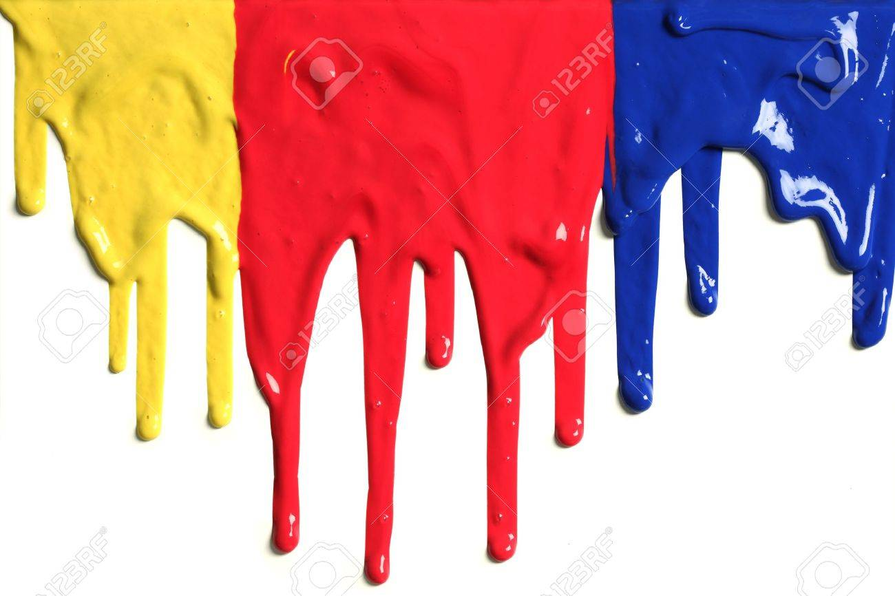 Paint dripping - 7492627