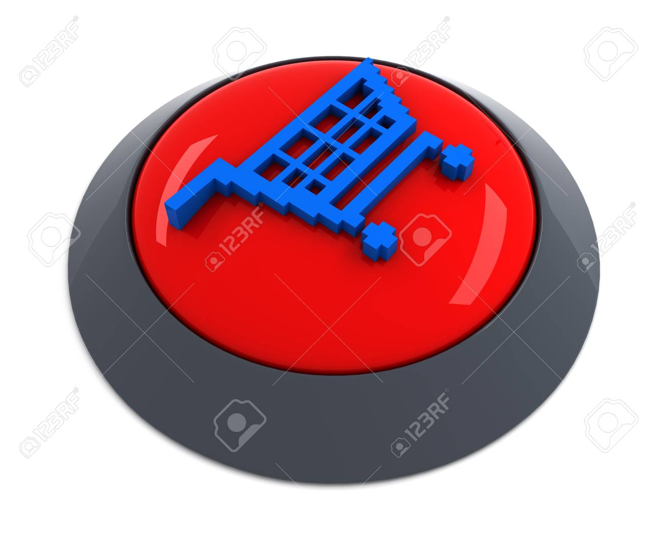 Add to cart button Stock Photo - 7914705