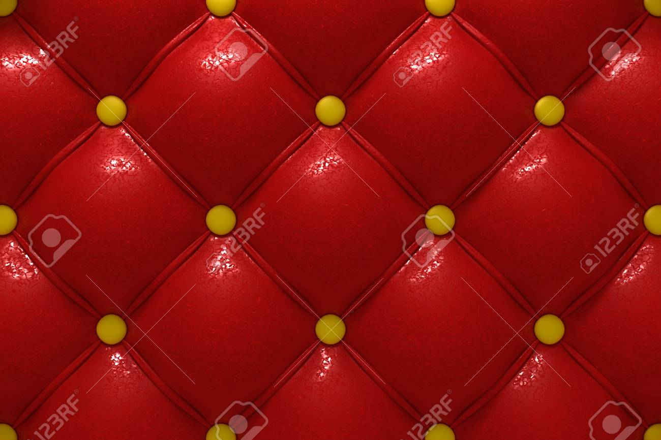 Buttoned leather Stock Photo - 10182810