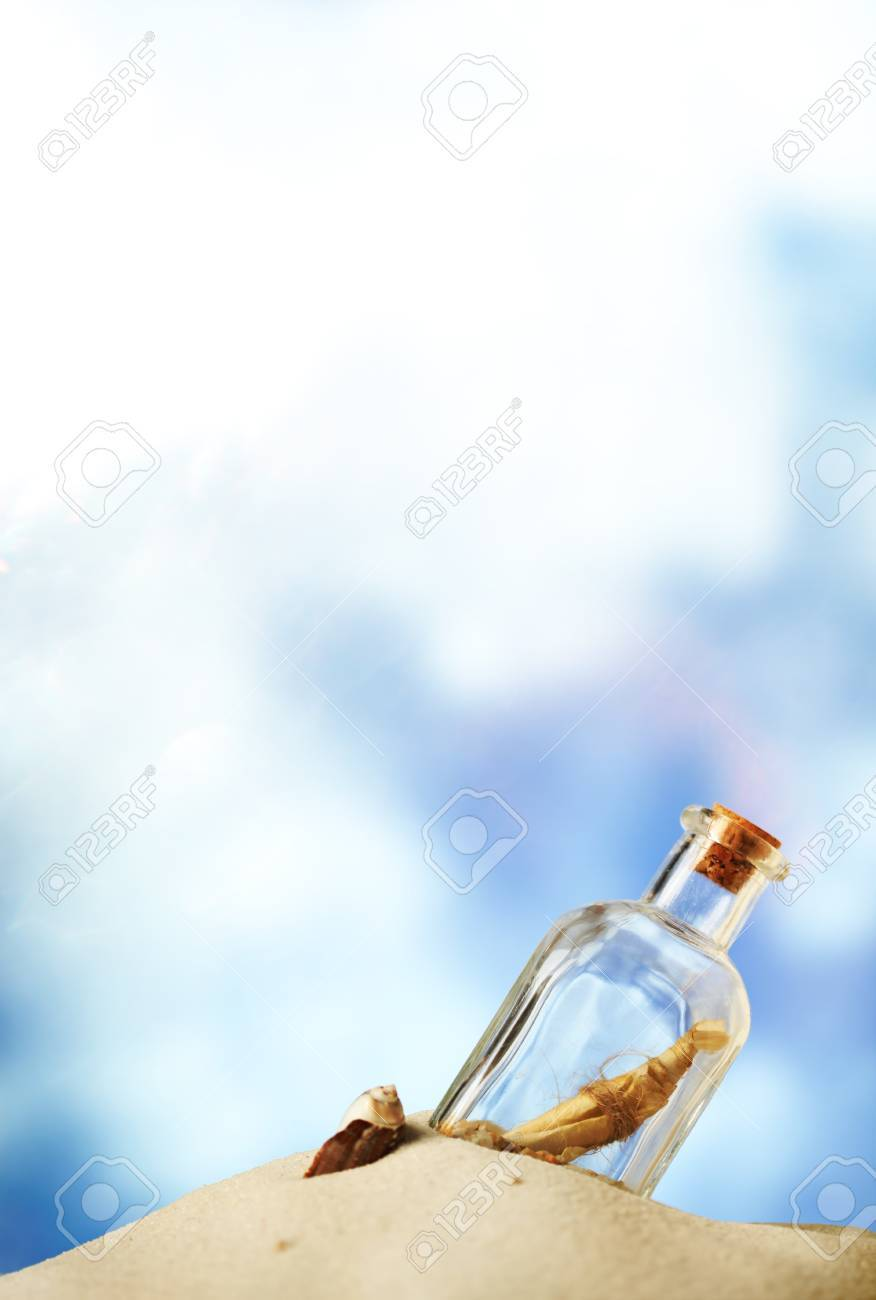 Message in a bottle Stock Photo - 10279062