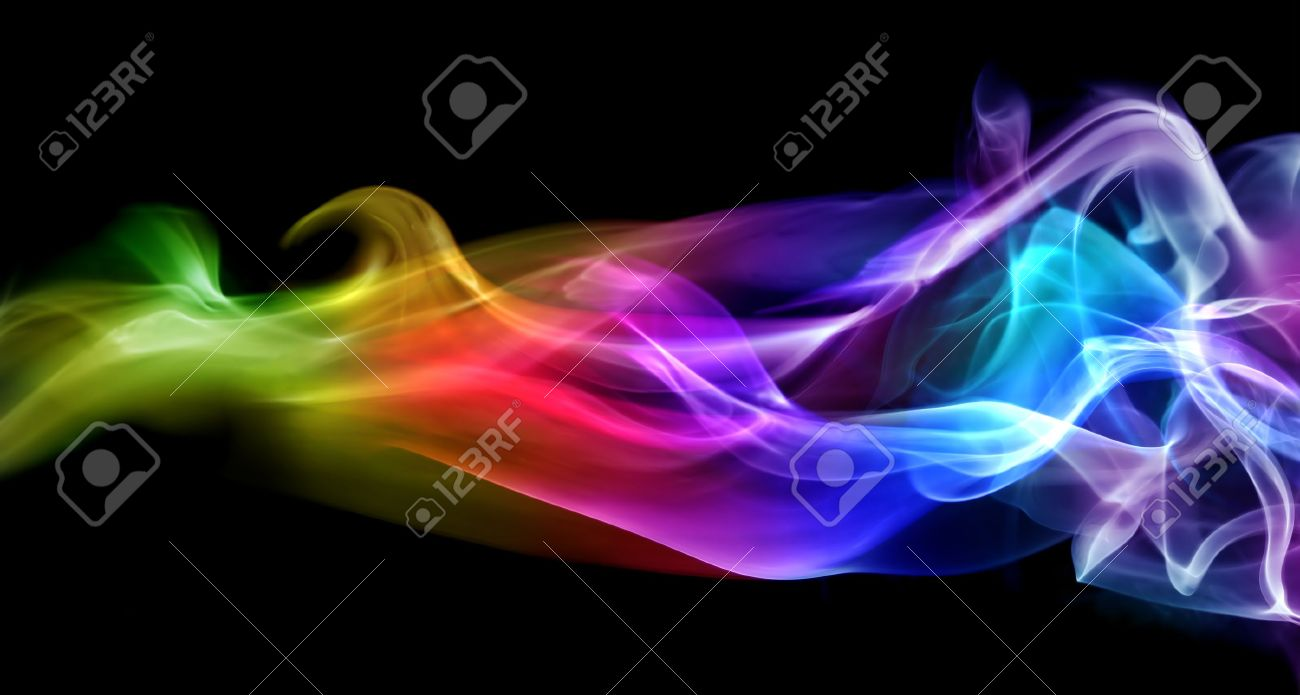 Colorful smoke Stock Photo - 10347817
