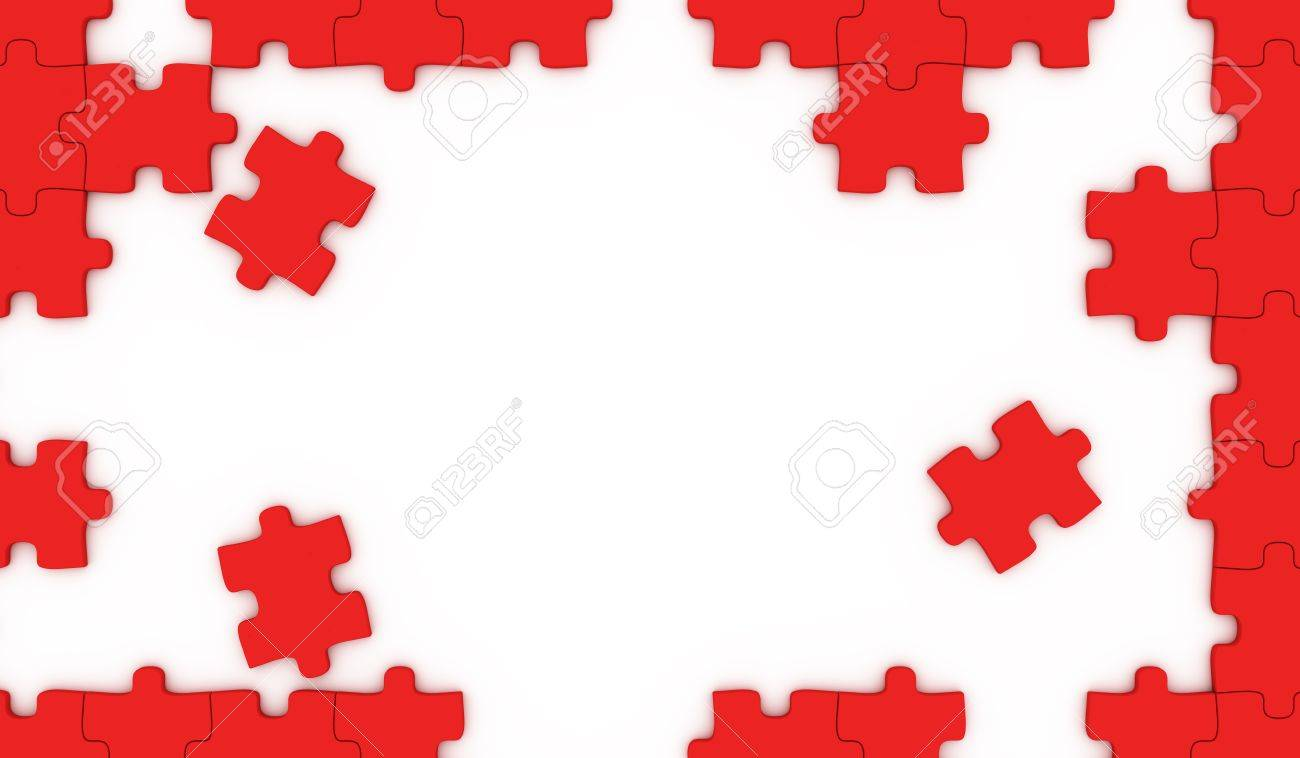 Puzzle pieces frame stock photo picture and royalty free image puzzle pieces frame stock photo 11020753 jeuxipadfo Images
