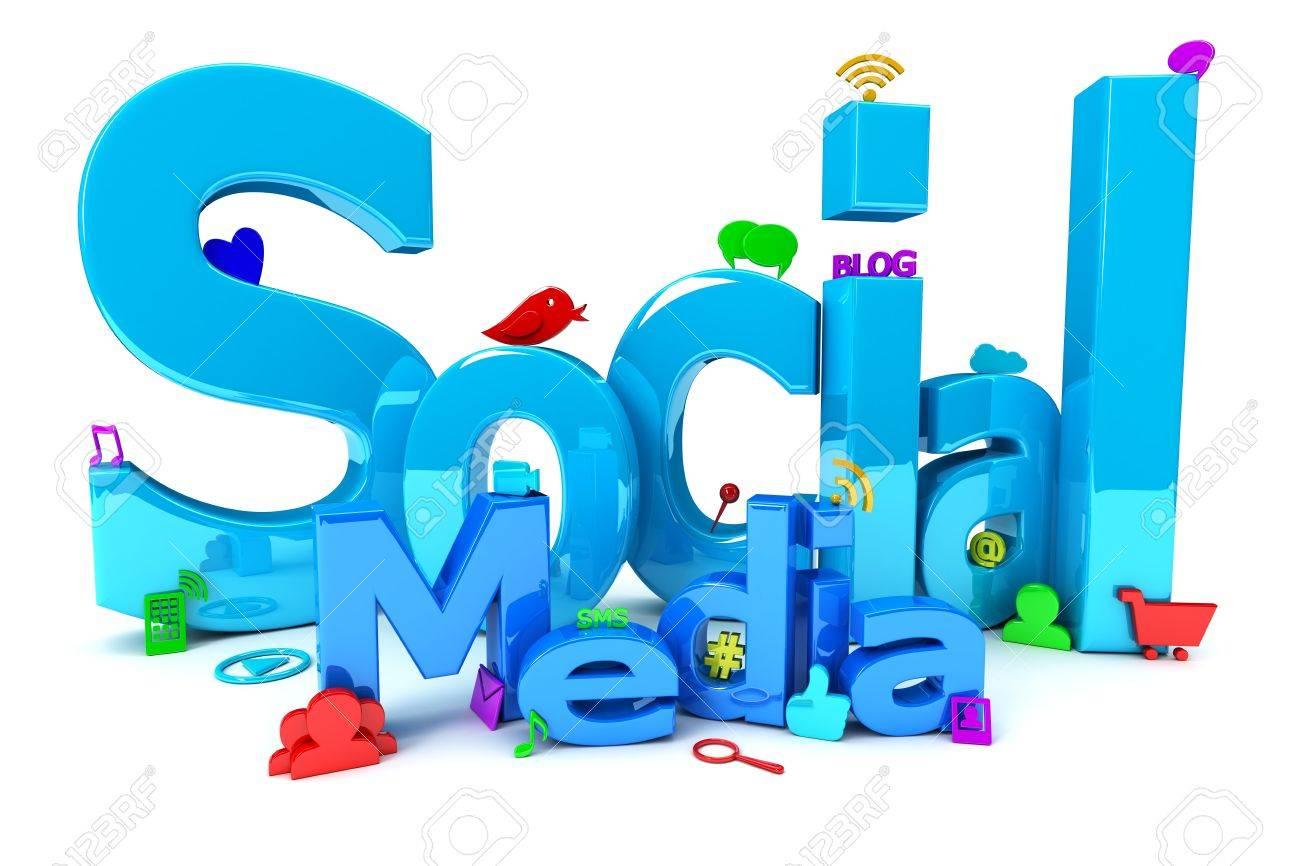 Social Media Stock Photo - 22898705