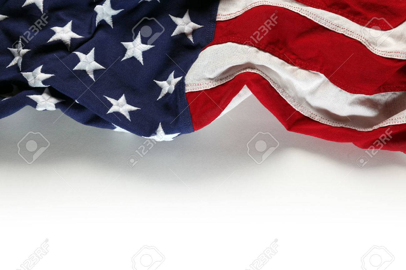 American Flag For Memorial Day Or 4th Of July Stock Photo   39789263