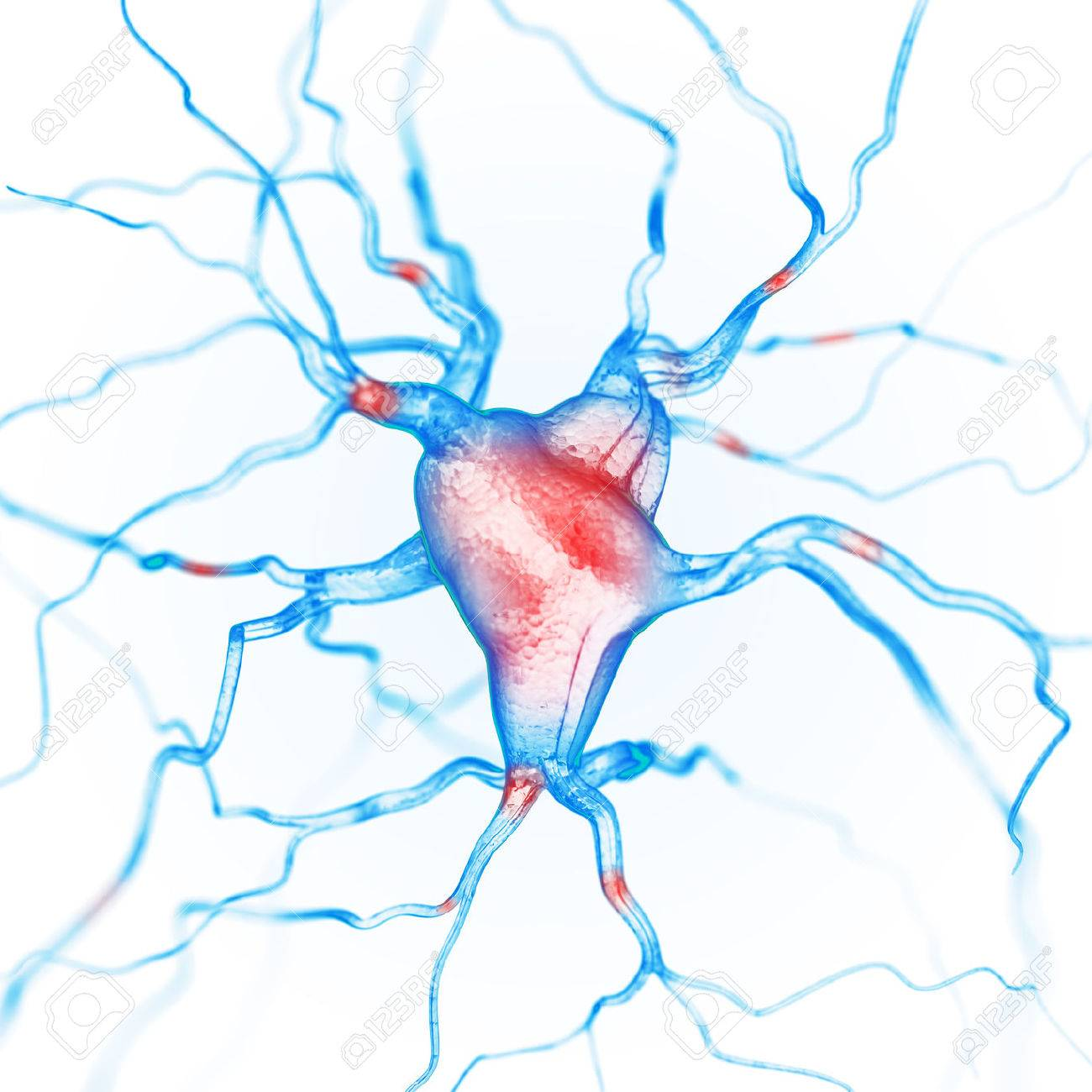 Neurons abstract background - 43149843
