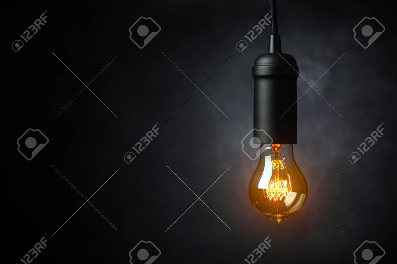 Vintage light blub - 45206414
