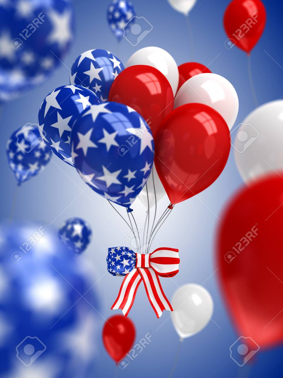red white and blue balloons background stock photo picture and royalty free image image 78526442 red white and blue balloons background