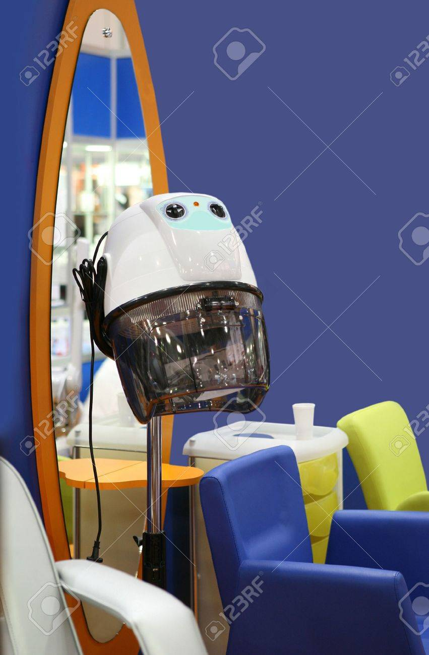 The hairdressing salon equipment Stock Photo - 5818712