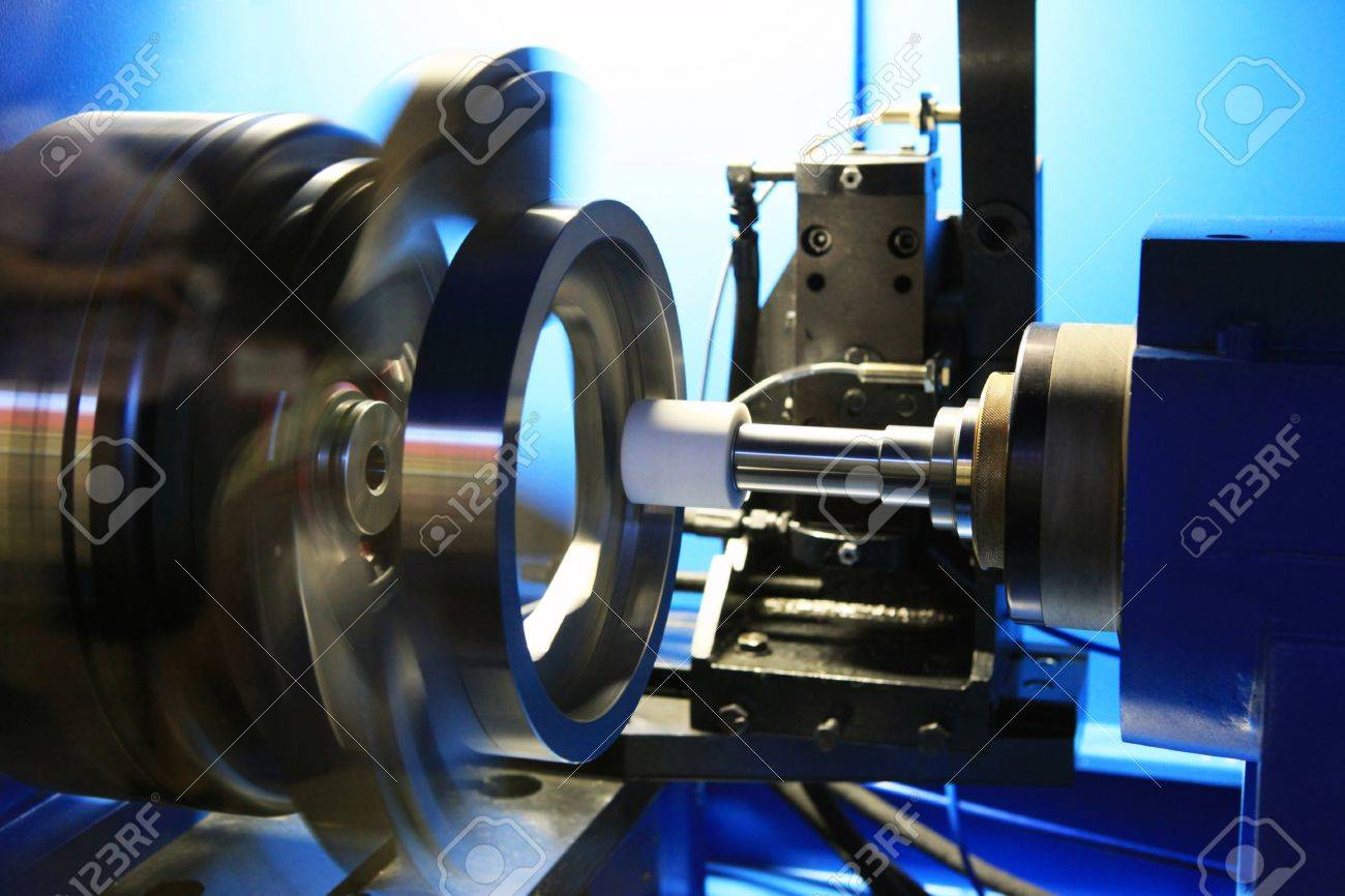 Grinding of a round detail on the special machine tool with a great speed - 9964875
