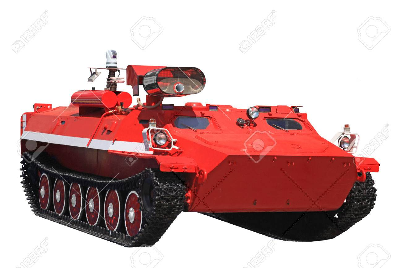 Crawler Transporter For Fighting Fires In Extreme Conditions Stock Photo,  Picture And Royalty Free Image. Image 43564467.