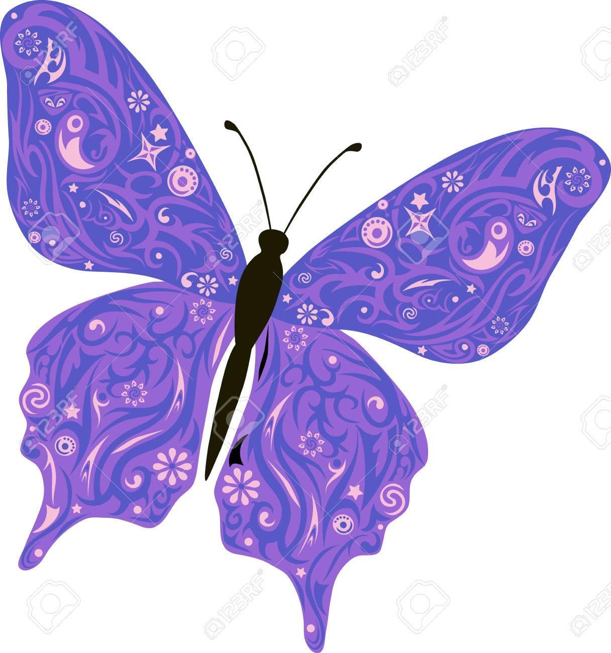 Aile De Papillon Dessin le papillon vole, un modèle sur les ailes, l'animal avec le dessin