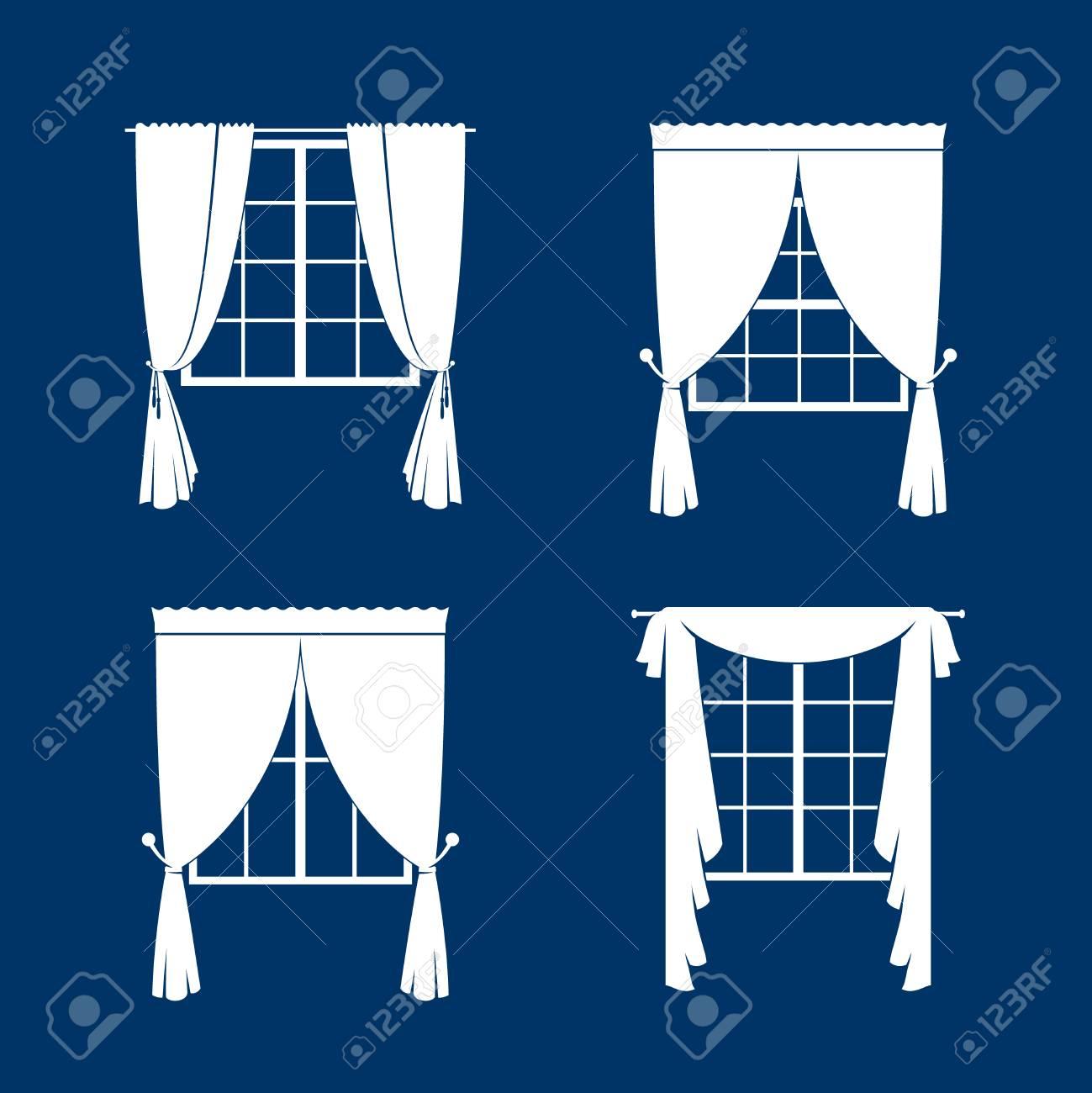 https://previews.123rf.com/images/ssstocker/ssstocker1605/ssstocker160500039/57171760-window-curtains-set-white-curtans-and-windows-silhouette-on-blue-vackground-vector-illustration.jpg