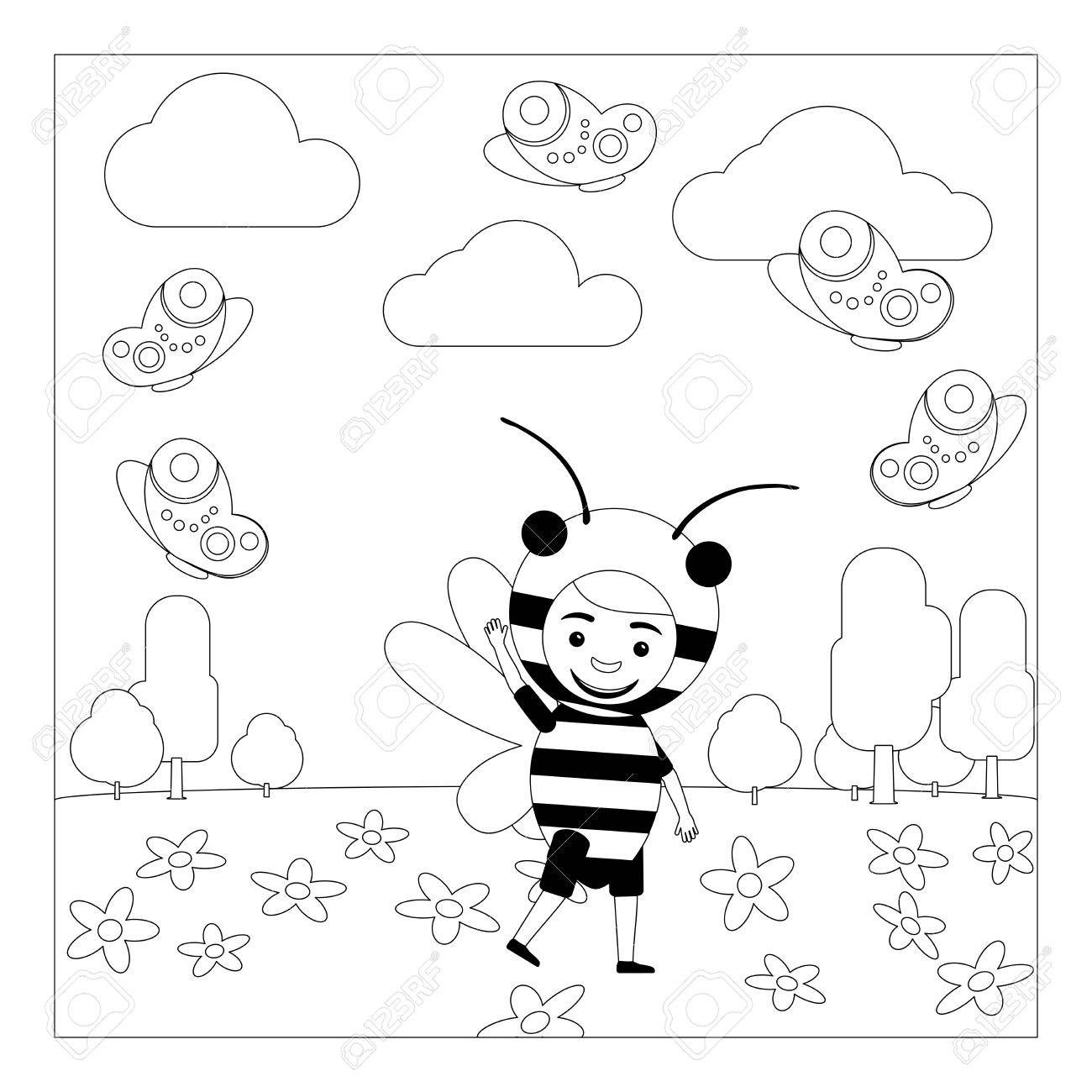 Insects for kids - Insects Kids Coloring Pages   1300x1300