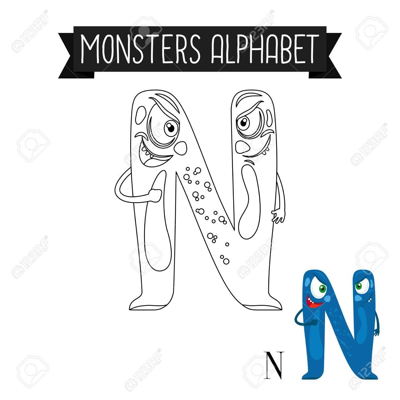 Atemberaubend Monster Färbungen Bilder Bilder - Malvorlagen Von ...