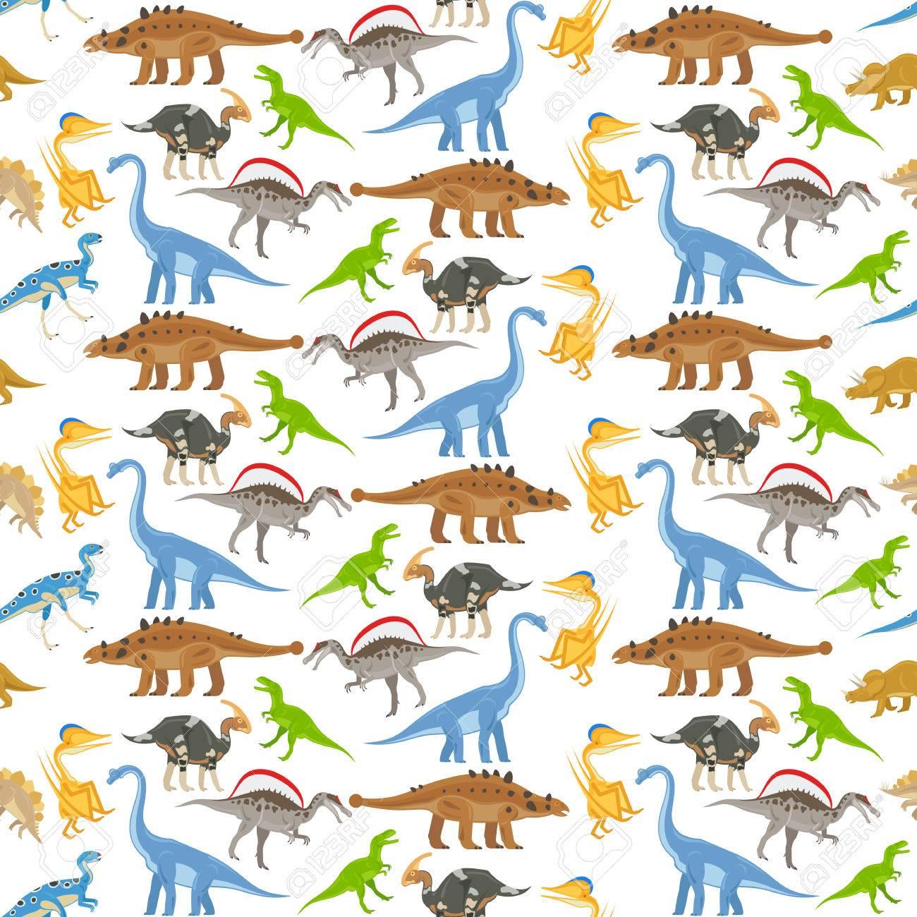 Modelo Inconsútil Del Dinosaurio En El Fondo Transparente De ...
